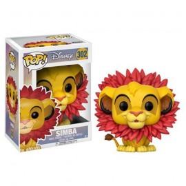 Disney 302 POP - Lion King - Flocked Leaf Mane Simba