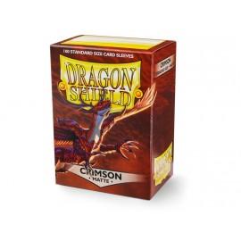 Dragon Shield Matte - Crimson (10x100)