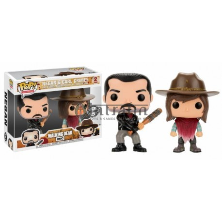 Television POP - Walking Dead - Negan & Carl 2-pack