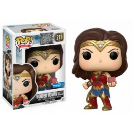 DC 268 POP -Justice League - Wonder Woman with Mother Box EXC