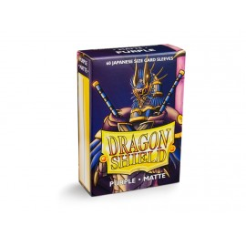 Dragon Shield - Matte Japanese Sleeves- Purple (60)