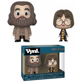 "Vynl 4"" Figure - Harry Potter - Hagrid and Harry 2-pack"