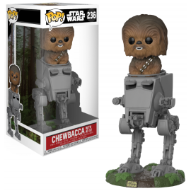 Star Wars 236 POP - Chewbacca in AT-ST LIMITED DELUXE