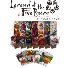 Legend of the Five Rings: The Card Game 2018 Season One Stronghold Kit