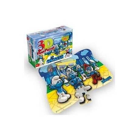 Smurfs 3D Vloerpuzzel