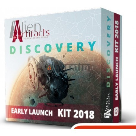Alien Artifacts: Discovery Early Launch Kit 2018