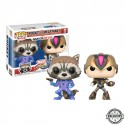 Movies POP - Capcom Vs Marvel - Rocket vs MegaMan - 2-pack