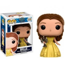 Disney 248 POP - Beauty and the Beast Live Action - Belle with Candle Stick
