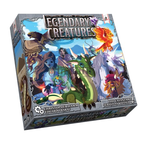 Legendary Creatures (Boxed Card Game)