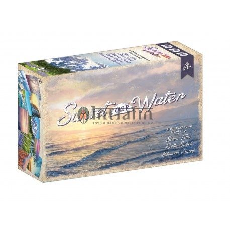 Sunset Over Water (Boxed Card Game)