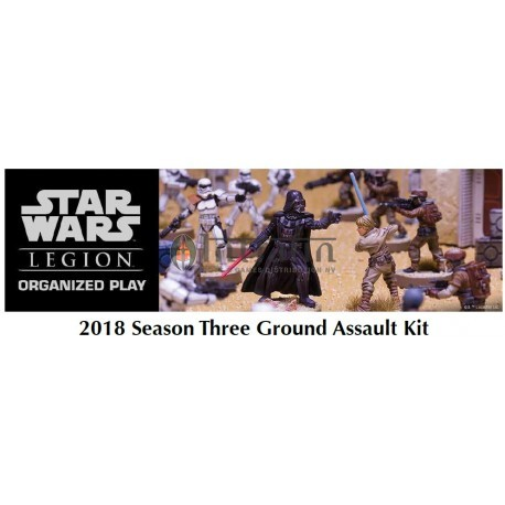 Star Wars Legion 2018 Season Three Ground Assault Kit
