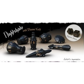 PolyHero Dice Rogue Sets - Nightshade