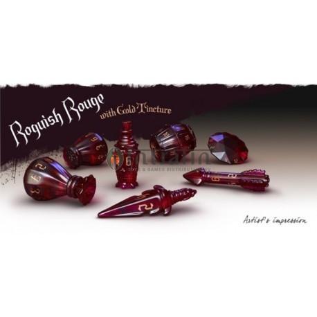 PolyHero Dice Rogue Sets - Roguish Rouge