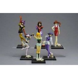 Sif Excel Saga Figures display (10p
