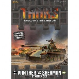 Tanks - Panther vs Sherman starter set (italian)