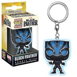 POP - Keychain - Marvel - Black Panther GLOW