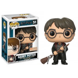 Movies 51 POP - Harry Potter - Harry with Broom & Feather EXC