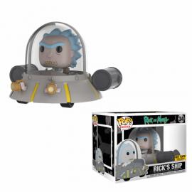 Rides 34 POP - Rick & Morty - Rick's Ship EXC