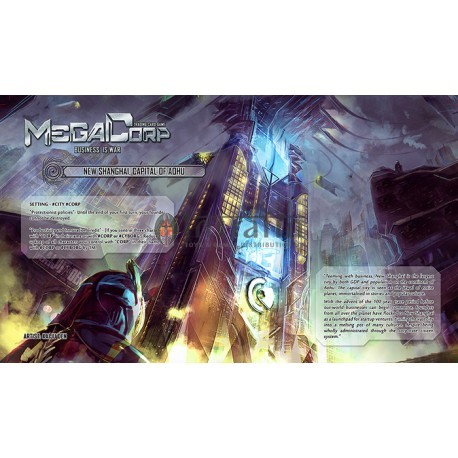 MegaCorp - Business is War - Random Playmat