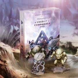 Anachrony boardgame Exosuit Commander Pack
