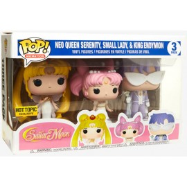 Sailor Moon POP - Queen Serenity, Small Lady and King Endymion 3-pack EXC