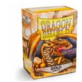 Dragon Shield Matte - Gold (10x100)