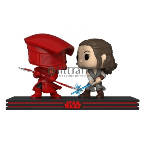 Star Wars Movie Moment - The Last Jedi - Rey & Praetorian Guard