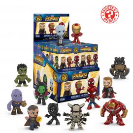 Mystery Mini Figures Display - Marvel - Avengers Infinity War (12)