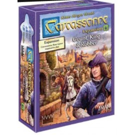 Carcassonne: Carcassonne 6: Count, King & Robber