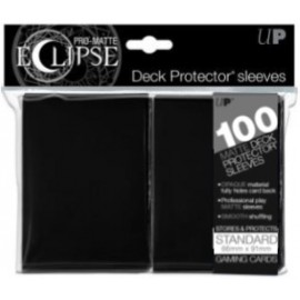 Pro Matte Eclipse Standard Sleeves Jet Black 100ct