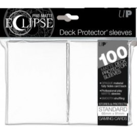 Pro Matte Eclipse Standard Sleeves Artic White 100ct