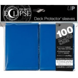 Pro Matte Eclipse Standard Sleeves Pacific Blue 100ct