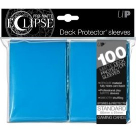 Pro Matte Eclipse Standard Sleeves Sky Blue 100ct