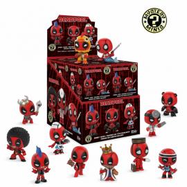 Mystery Mini Figures Display - Marvel Deadpool (12)