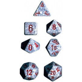 Speckled Polyhedral 7-Die Sets - Air