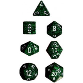 Speckled Polyhedral 7-Die Sets - Recon