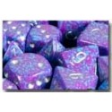Speckled Polyhedral 7-Die Sets - Silver Tetra