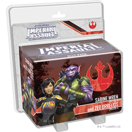 Star Wars: Imperial Assault: Sabine Wren and Zeb Orrelios Ally Pack