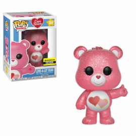 Animation 364 POP - Care Bears - Love-a-lot Bear Glitter