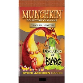 Munchkin Collectible Card Game: The Desolation of Blarg Booster (Season 1)
