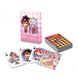 Playing cards, no game no life
