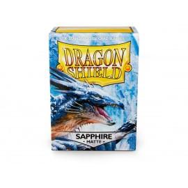 Dragon Shield Matte - Sapphire (10x100)