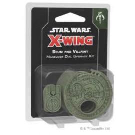 Star Wars X-Wing: Scum Maneuver Dial Upgrade Kit