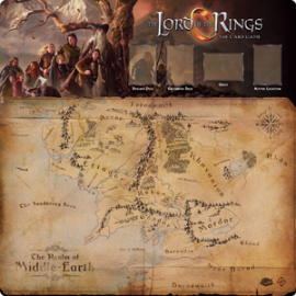 Lord of the Rings LCG: Fellowship 1-4 Player Gamemat