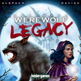 Ultimate Werewolf Legacy boxed cardgame