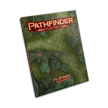 Pathfinder Playtest RPG Flip-Mat Multi-Pack