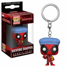 POP Keychain - Marvel - Bathtime Deadpool