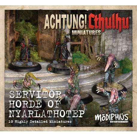 Achtung! Cthulhu - Servitor Horde of Nyarlathotep Unit Pack (8-pack of minis)