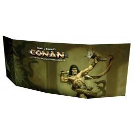 Conan GM Screen (4-panel Screen w/ supp.)