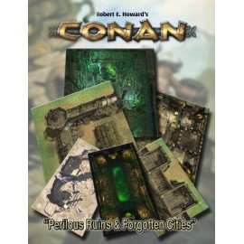 Conan: Perilous Ruins & Forgotten Cities Geo. Tile Set (Conan RPG Terrain)